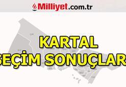 23 Haziran Kartal seçim sonuçları ve oy oranları (İstanbul Yerel Seçimleri)