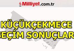 23 Haziran Küçükçekmece seçim sonuçları ve oy oranları (İstanbul Yerel Seçimleri)