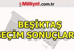 Beşiktaş seçim sonuçları ve oy oranları 23 Haziran Beşiktaş seçim sonuçları