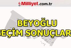 Beyoğlu seçim sonuçları ve oy oranları 23 Haziran Beyoğlu seçim sonuçları