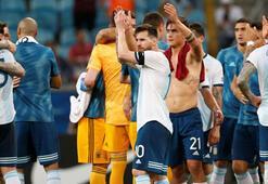 Kupa Amerikada Arjantin çeyrek finalist: 2-0