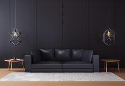 Siyah mobilyalar nasıl dekore edilir