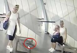 İstanbul metrosunda şaşırtan görüntü