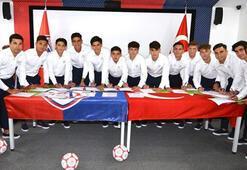 Altınordulu futbolcular yemin etti