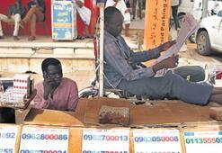 Sudan'da tek kişilik internet