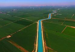 Sulama kanalları GAPın verimli arazilerine hayat veriyor