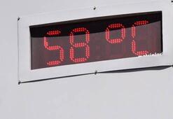 Termometreler 58 dereceyi gördü Evden çıkamıyorlar