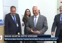 Bakan Akar, Yunanistan Savunma Bakanı ile görüştü