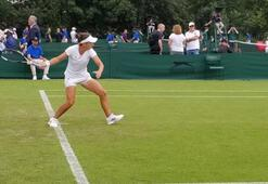 Pemra Özgenden Wimbledona veda
