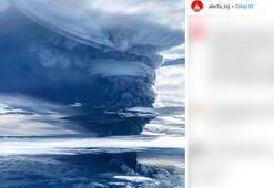 En tehlikeli yanardağ harekete geçti Binlerce insan tahliye edildi, tüm uçuşlar durdu…