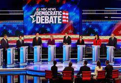 Demokrat aday adayları ilk kez canlı yayında kozlarını paylaştı