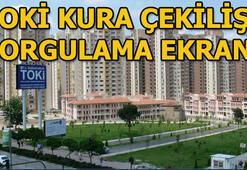 TOKİ kura çekilişi sorgulama ekranı 2019 TOKİ İstanbul kura çekilişi