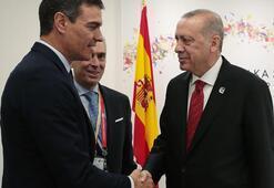 Cumhurbaşkanı Erdoğandan kritik görüşmeler