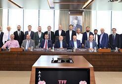 Spor Toto 1. Lig kulüp başkanlarından Nihat Özdemire ziyaret