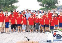 Engelsizciler'in kamp macerası