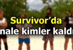 Survivorda finale kimler kaldı İşte o isimler...