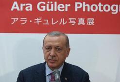 Cumhurbaşkanı Erdoğan, Japonyada Ara Güler Sergisini açtı