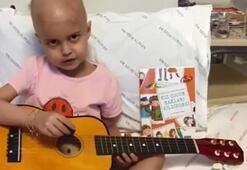 Öykü Arin doktorlarına şarkı söyledi