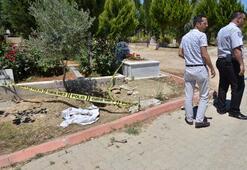 Adanada esrarengiz olay Mezardan çıkarıldı