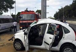 Yer: İstanbul... Korkunç kaza