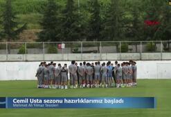 Trabzonsporda yeni sezon hazırlıkları başladı