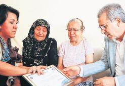 Kemal'in diploması annesine ulaştırıldı