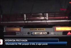 Otomobil ile TIR çarpıştı: 2 ölü, 2 ağır yaralı