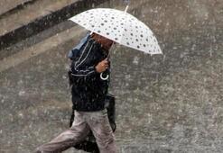 Sağanak ve gök gürültülü yağış...