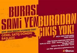 Galatasarayda kombinelerin genel satışına başlandı