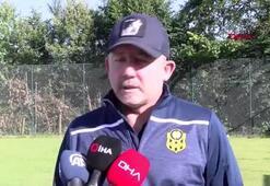 """Sergen Yalçın: """"UEFA Avrupa Liginde gruplara kalabilirsek bizim için başarıdır"""""""