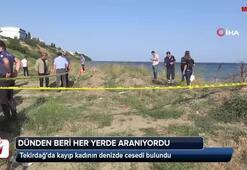 Kayıp kadının cesedi denizde bulundu