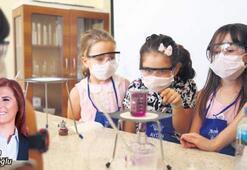 Minikler bilim yuvasını sevdi