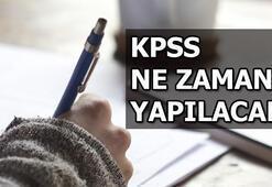 KPSS sınav giriş yeri sorgulama KPSS ne zaman yapılacak