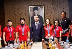 Kasapoğlu: Amacımız Türkiyenin bir spor ülkesi olması