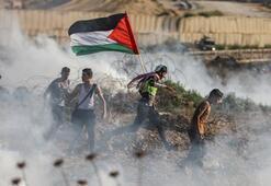 İsrail askerleri Gazze sınırında 40 Filistinliyi yaraladı