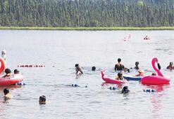 Alaska'da sıcaklık rekoru