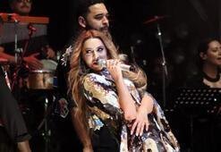 Ereğli'de Hadise ve Murat Boz coşkusu