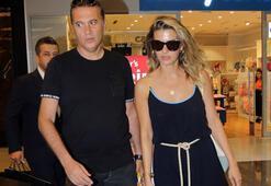 Yeni çiftin alışveriş keyfi
