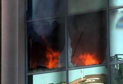 Son dakika: İstanbulda korkutan yangın