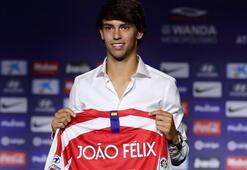 Atletico Madrid, Joao Felixi basına tanıttı