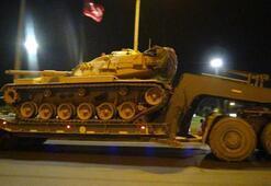 Şanlıurfadan sınır birliklerine gece sevkiyatı