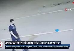 Ankara Emniyetinden sözlük operasyonu
