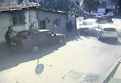8 aracı biçti, mahalleliden dayak yedi