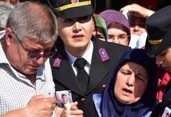 Şehit Üsteğmen, Dalamanda gözyaşlarıyla uğurlandı
