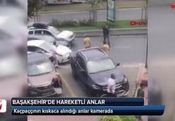 Başakşehirde kapkaççılara kıskaç kamerada