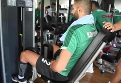 Konyaspor, Boludaki çalışmalarını sürdürüyor