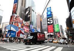 15 Temmuz New Yorkta dijital ekranlı kamyonetle anlatıldı