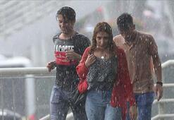 Uyarı üstüne uyarı gelmişti İstanbulda şiddetli sağanak