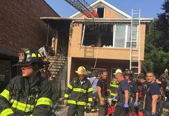 New Yorkta evde yangın