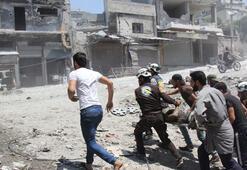 Rusya ve rejim İdlibi yine vurdu